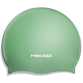 Head Silicone Moulded Swimcap green